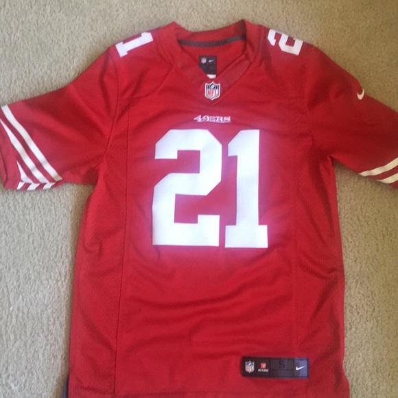 the best attitude fc742 9eb24 NFL 49ers Frank Gore Jersey